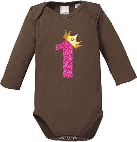 Pepolino Geburtstag   erster und zweiter Geburtstag Body Baby Langarm Bio Baumwolle