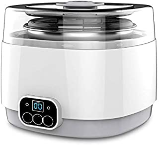 SHYPT Multifunctional Yogurt Makers Rice Wine Natto Fully Automatic Touch Switch Stainless Steel Microcomputer Timing