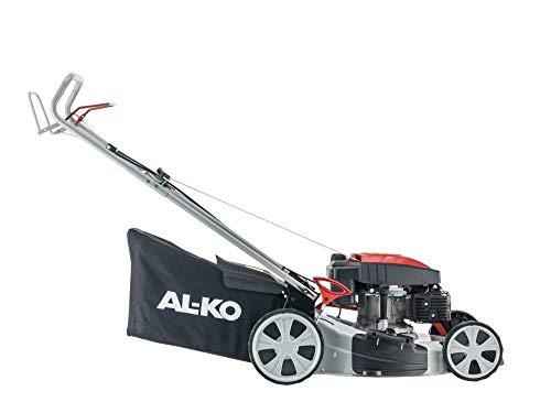 AL-KO - Tosaerba a scoppio semovente - 160cc OHV, taglio 51cm.Taglio,Raccolta,Mulching,Scarico Laterale. Alzo Centralizzato. Cesto 60l tela. Ideale 1.800mq.