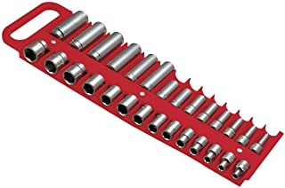 "Lisle 40200 Red 3/8"" Magnetic Socket Holder"