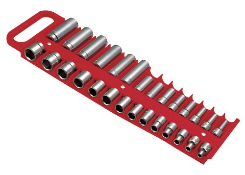 Lisle 40200 Magnetic Socket Holder- Red