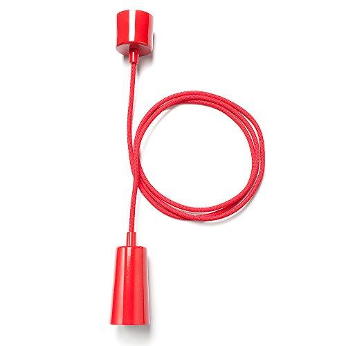 Plumen 1302020201 Suspension Rouge E27