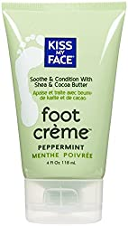 Product Review: Kiss My Face Organic Foot Scrub in Pepperm