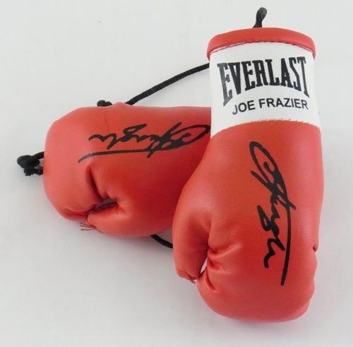 Everlast Autografiada Mini Guantes de Boxeo Joe Frazier