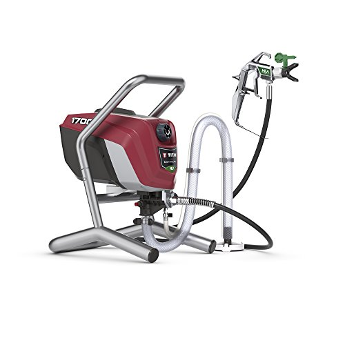 Titan Tool 0580009 Titan High Efficiency Airless Paint Sprayer, HEA technology decreases overspray...