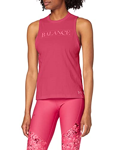 Under Armour Balance Graphic Muscle Tanque, Mujer, Rosa, MD