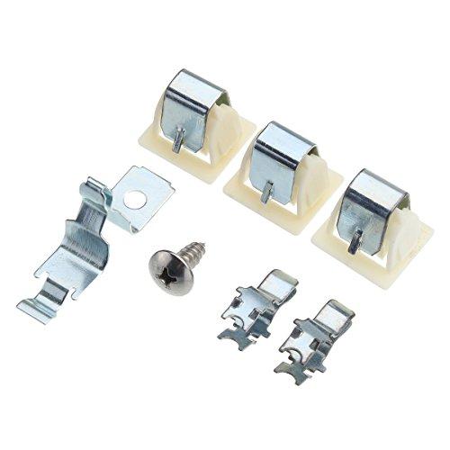 HELEISH 6pcs secador de la puerta de cierre de la captura de kit para Whirlpool Kenmore PS334230 AP3094183 Herramienta accesoria