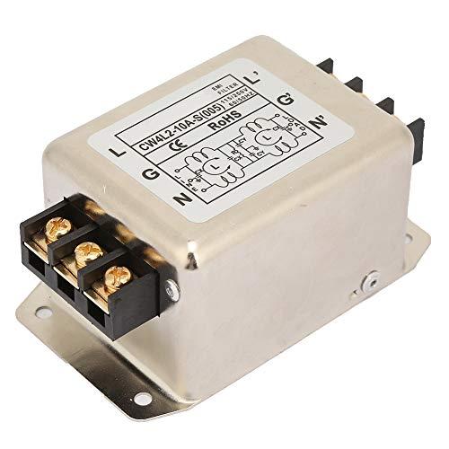 Hochleistungs-115-A / 250-V-10-A-Stromkabelfilter, Netzfilter, einphasig für die meisten digitalen Geräte Mechanische Geräte für medizinische Geräte Laufbänder