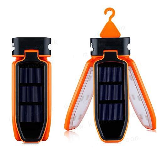 RongDuosi Outdoor LED Camping Licht Zonne Noodlicht Tent Licht Vouwen Buitenuitrusting Zwembed