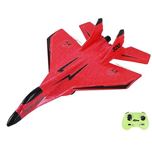 Groust RC Flugzeug 2.4G RC Flugzeug Fernbedienung EPP Flugzeug Miniatur Flugmodellflugzeuge Outdoor Toy - 2.4G Ferngesteuertes Flugzeug Mit USB-Ladegerät für Kinder Jungen Anfänger,285×210mm