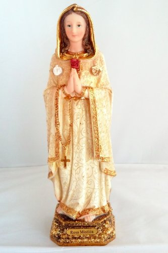 12' Inch Statue Rosa Mistica Mystica Religious...