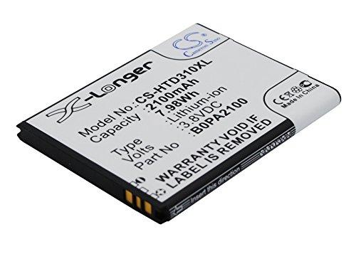techgicoo 2100mAh/7.98Wh batería de repuesto para HTC Desire 310