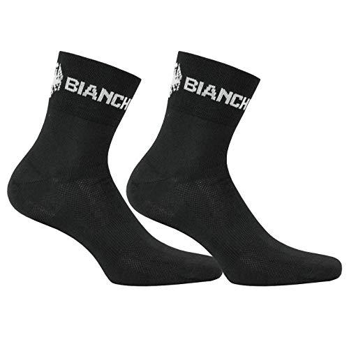 Nalini Bianchi Bianchi - Calze da ciclismo, da uomo, taglia L/XL, colore: Nero