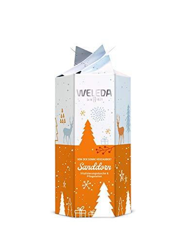 Weleda Weihnachten 2019 Geschenkset Sanddorn mit Sanddorn Dusche 200ml und Sanddorn Lotion 200ml