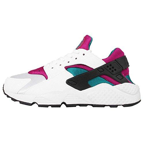 Nike, Sneaker donna Bianco Weiß / Radiant Smaragd / Sport Fuchsia, Bianco (Weiß / Radiant Smaragd / Sport Fuchsia), 39