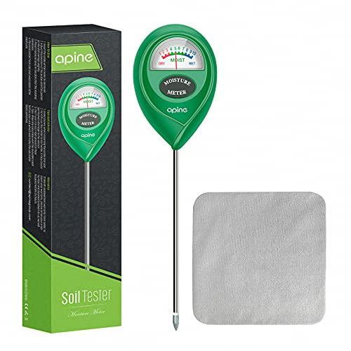 Soil Moisture Meter, Plants Moisture Meter, apine Plant Water Meter for Indoor/Outdoor plants,hydrometer for plants(Green)