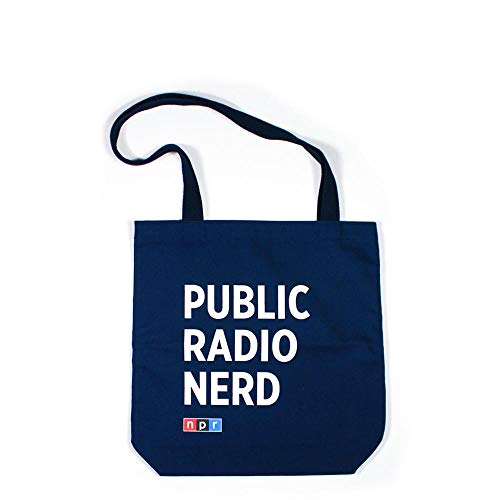Public Radio Nerd Tote: Navy
