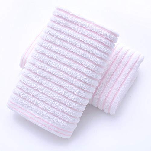 CMZ Toalla Horizontal Fresca de Tres Colores Toalla de Lavado Facial Toalla de Mano de Color sólido Absorbente para Adultos Toalla Simple Suave para el hogar
