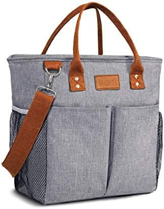 Everfit Premium Large Insulated Lunch Tote Bag with Pockets and Shoulder Strap 20 Can Capacity product image