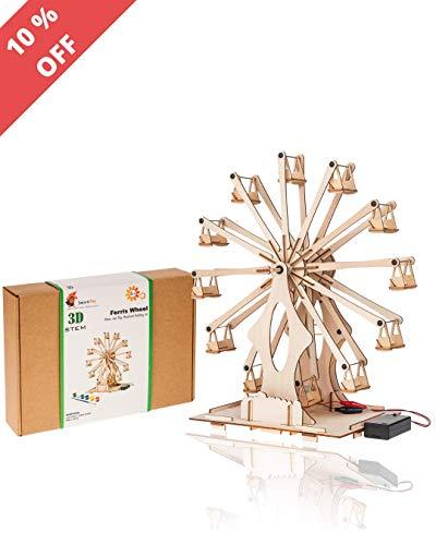 Wooden Ferris Wheel Building Kit review