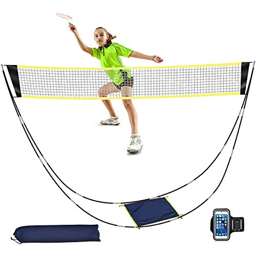 (50% OFF) Portable Badminton Net Set W/ Carry Bag $11.00 – Coupon Code