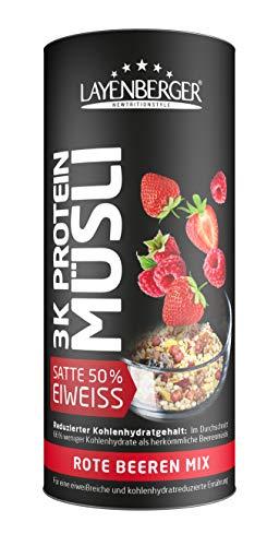 Layenberger 3K Protein Müsli Rote Beeren Mix, 360 g