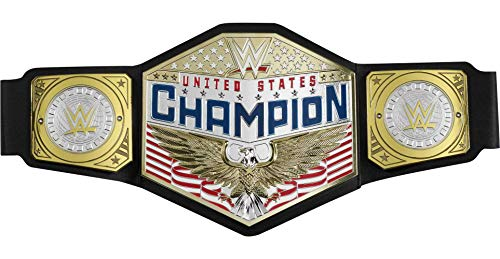 WWE Championship Title Featuring Authentic Styling, Metallic Medallions, Leather-like Belt & Adjustable Feature that Fits Waists of Kids 8 and Up