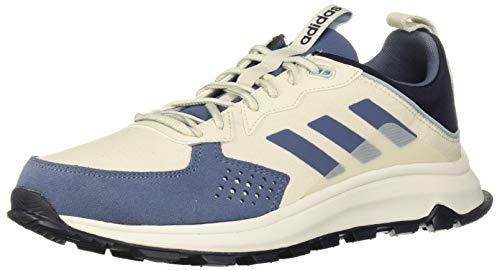 adidas Herren Response Trail Laufschuh, Weiß/Tech Ink/Legend Tinte, 41 1/3 EU
