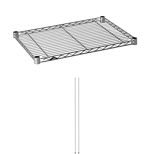 ルミナスライト(ポール径19mm/棚板耐荷重150kg)セット買い 幅54.5×奥行39.5cm 高さ174.5cm 3段