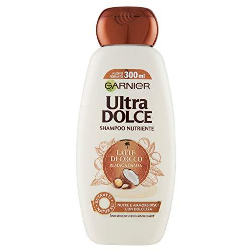 Garnier Shampoo, Latte di Cocco, 300ml