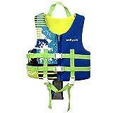 Chaleco de natación para niños, Traje Flotante Chaqueta de flotación para niños Traje de baño de flotabilidad Chaqueta de Entrenador de natación para niños y niñas