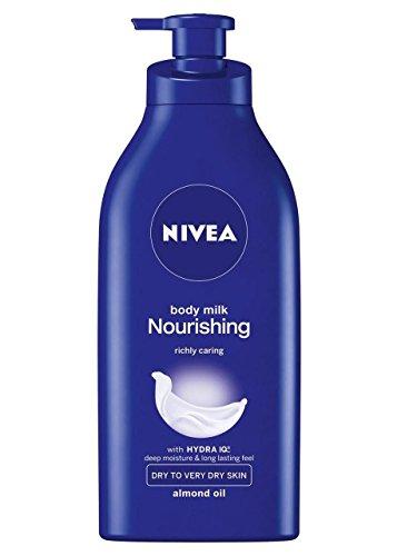 NIVEA Rich Nourishing Body Moisturiser For Dry Skin with Pump 400ml