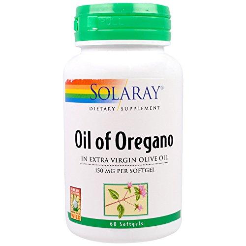 Solaray, (2 Pack) Oil of Oregano, 150 mg, 60 Softgels