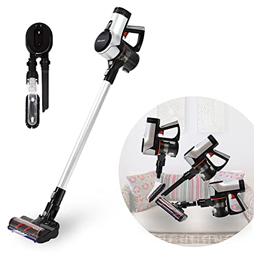 WECLEAN V4 Cordless Vacuum Cleaner with LED Headlights,...