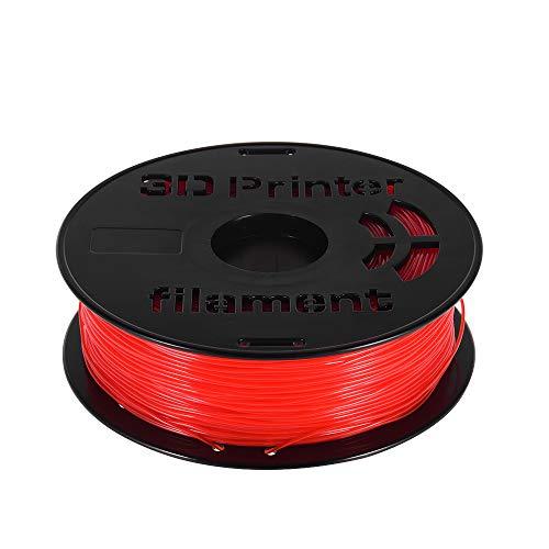 Fesjoy FLEX-Faden 1 kg/Spule 1,75 mm flexibles TPU-Filament-Druckmaterial Liefert Weiß, Schwarz, Transparent für 3D-Drucker-Zeichenstifte Rot