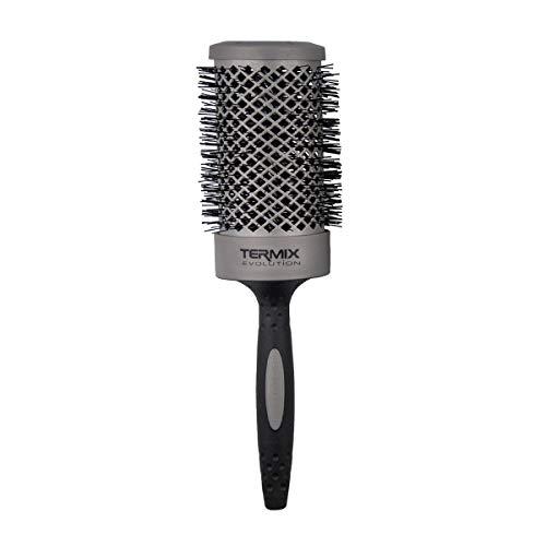 Termix Evolution Basic Ø60- Cepillo térmico redondo con fibra ionizada de alto rendimiento, especial para cabellos de grosor medio. Disponible en 8 diámetros y en formato Pack.