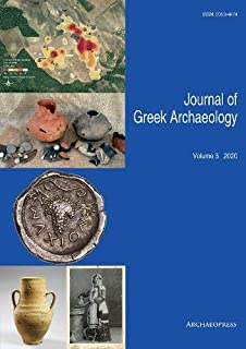 Journal of Greek Archaeology Volume 5 2020