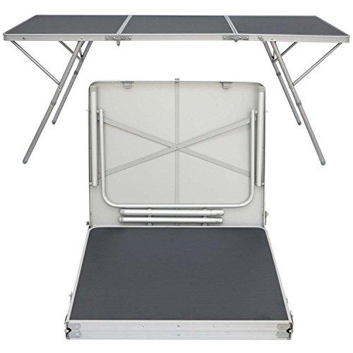 AMANKA Mesa de Camping XXL 180x70x70cm mobiliario de Acampada ...