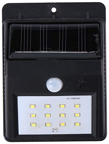 Grundig solar wandlamp - met sensor - voor buiten - 20lm