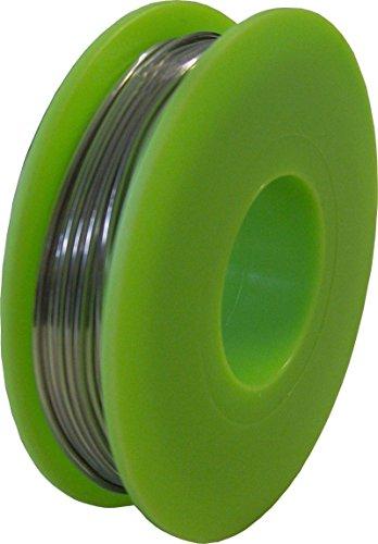 HeiTools Silberlot 1mm / 100g / 4% Silber / Sn95,5 Ag3,8 Cu0,7 / sehr gut geeignet für Konfektionierung von Video-, Lautsprecherkabel und Boxenbau