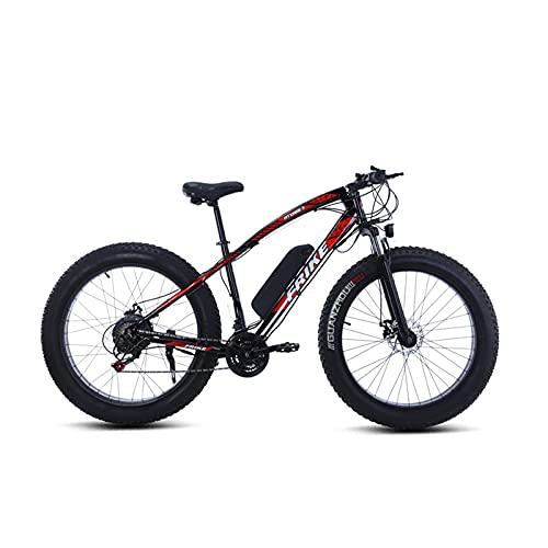 Herren E-Bike 21-Gang-Getrieb/Höchst Geschwindigkeit 30Km/H 26 Zoll E-Bike Trekking Und City Bike Für Herren Pedelec Mountainbike 36V10ah Batterie Kilometerstand Aufladen Bis Zu 52Km