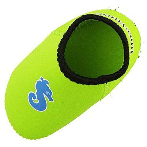 Imse Vimse Baby-Badeschuhe Aqua Socks Neopren 6-12 Monate, Grün