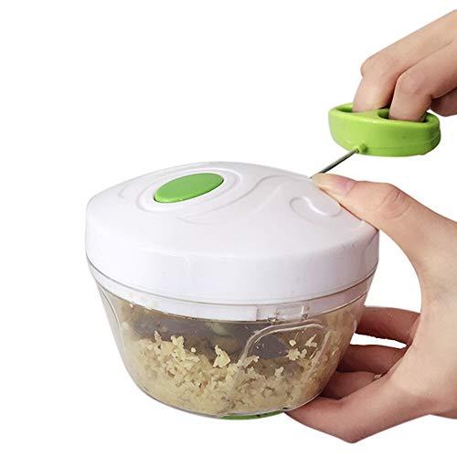 Interruptor manual de la mano de la cuerda procesador de alimentos Silcer Shredder Ensalada fabricante Creative Kitchen Tirando alimentaria en el hogar disyuntor Utensilios de cocina multifuncionales