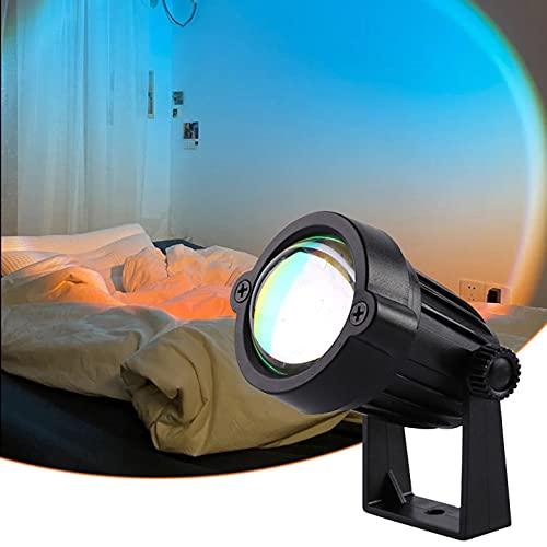 Aimiyaele - Luz de puesta de sol, lámpara de proyección de amanecer, lámpara de proyección de amanecer, carga UEB