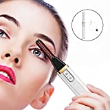 Nargut Portable Heated Eyelash Curler, Rechargeable Electric Lash Curler Makeup Beauty Eyelash Styling