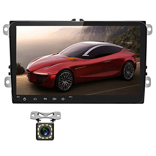 Car Stereo Double Din Android Car Radio for VW Passat Golf Jetta Polo Tiguan Touran Seat GPS Navigation Indash Head Unit 9