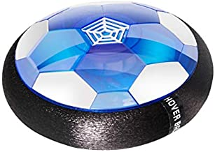 AnrayDiroct Rechargeable Kids Toys Hover Soccer Ball with Colorful LED Lights, Indoor Football Game for Toddlers, Children, Best Gifts for 4-16 Years Old Boys Girls (Hover Ball)