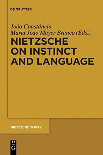 Nietzsche on Instinct and Language Nietzsche Today product image