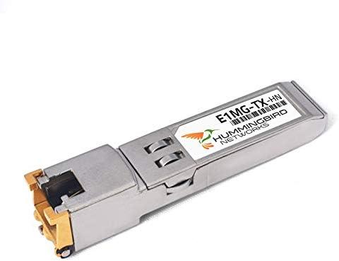 Brocade E1MG-TX Compatible 1000BASE-T SFP RJ-45 Fees free!! Rare Connecto Copper