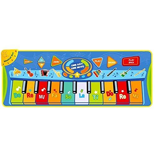 ZHANG Play Pad Piano Pad Teclado Musical Dance Pad Juguete para Bebés Niños Pequeños Educación Temprana Música Piano Play Pad
